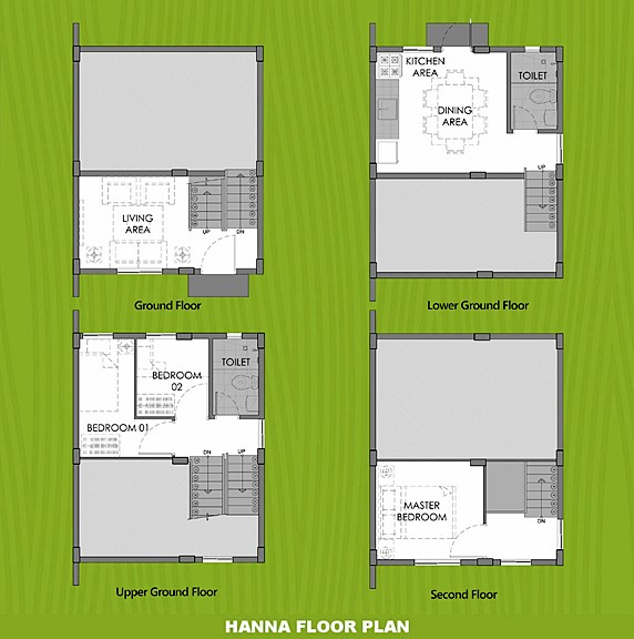 Hanna Floor Plan House and Lot in Davao