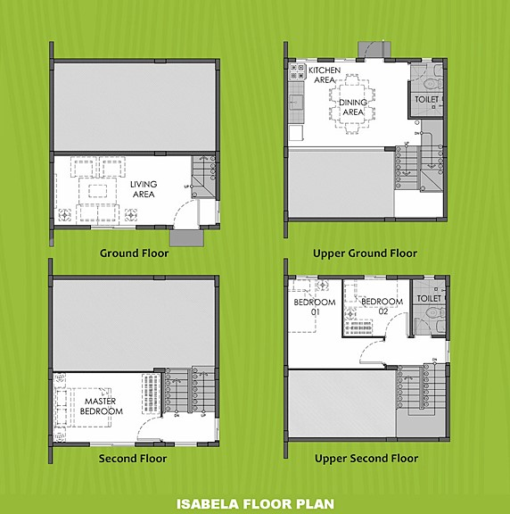 Isabela Floor Plan House and Lot in Davao