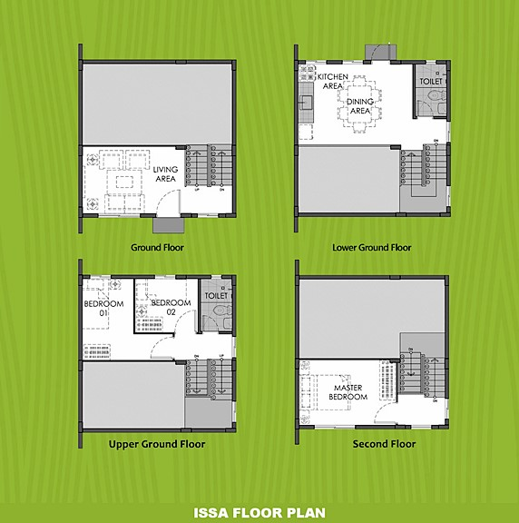 Issa Floor Plan House and Lot in Davao